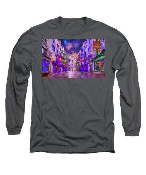Wizard Mall Long Sleeve T-Shirt