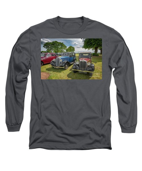Long Sleeve T-Shirt featuring the photograph Wolseley Motors by Adrian Evans
