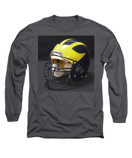 Wolverine Helmet From The 1990s Long Sleeve T-Shirt