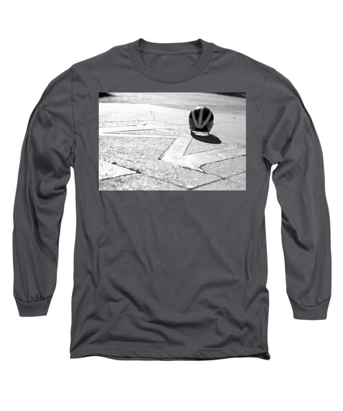 Wolverine Helmet On The Diag M Long Sleeve T-Shirt
