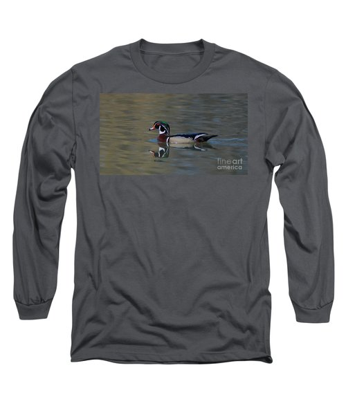 Wood Duck - Male Long Sleeve T-Shirt
