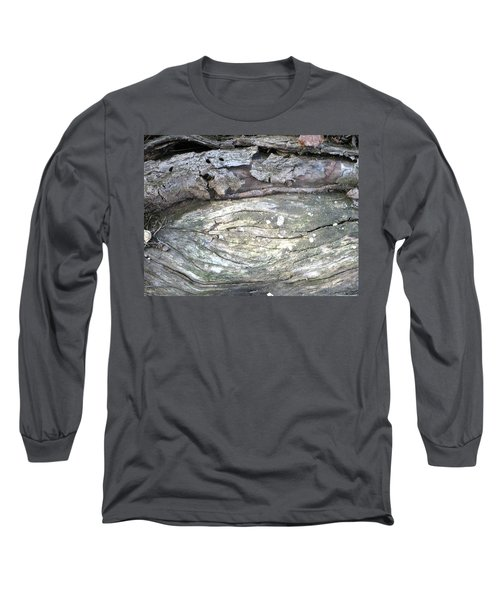 Wood Knot Long Sleeve T-Shirt by Michele Wilson