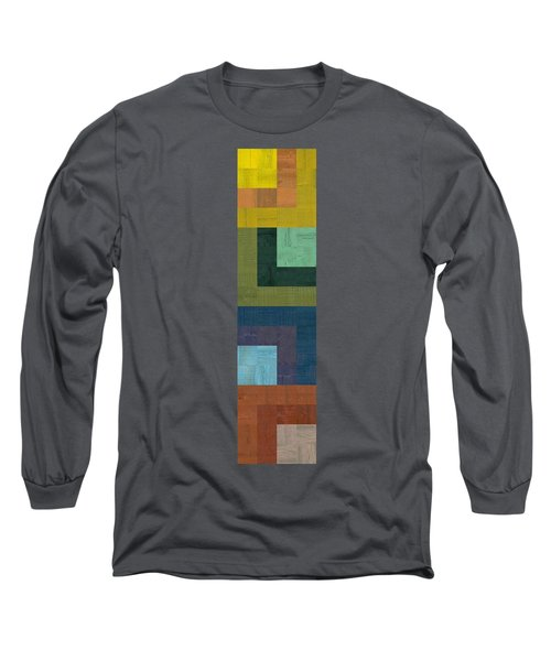 Wooden Collage 65 Long Sleeve T-Shirt