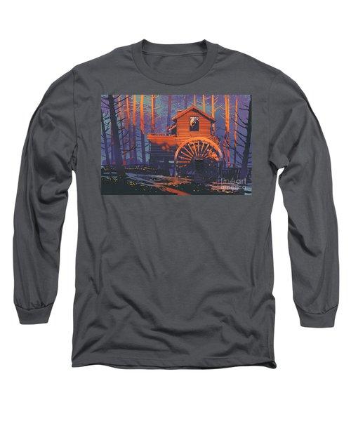 Wooden House Long Sleeve T-Shirt