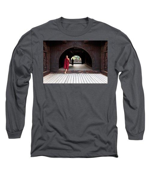 Wooden Monastery Long Sleeve T-Shirt