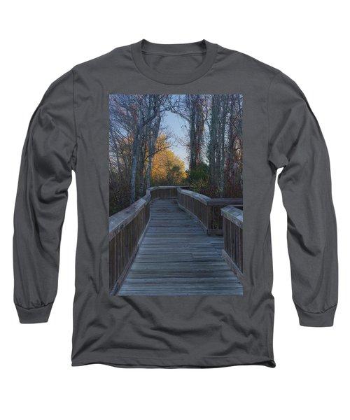 Wooden Path Long Sleeve T-Shirt