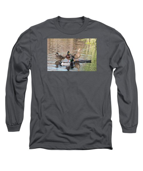 Woodies At Neary Long Sleeve T-Shirt