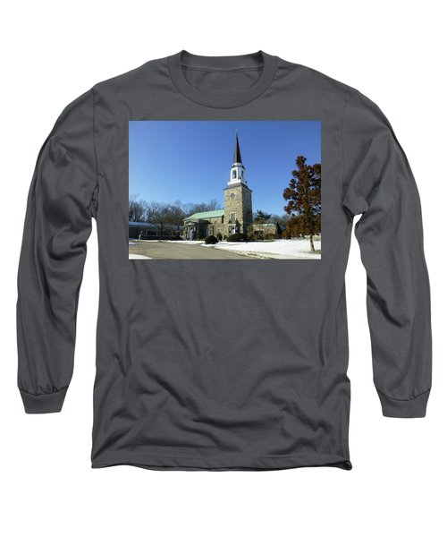 Woodlawn Cemetery Chapel Long Sleeve T-Shirt