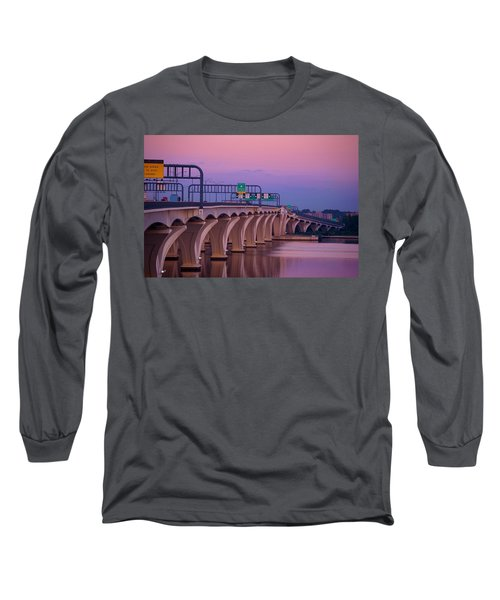 Woodrow Wilson Bridge Long Sleeve T-Shirt