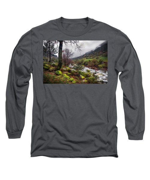 Woods Landscape Long Sleeve T-Shirt by Carlos Caetano