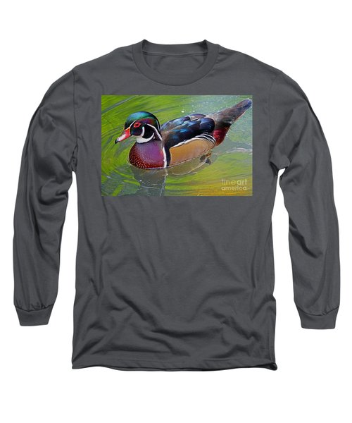 Woody Long Sleeve T-Shirt by Larry Nieland