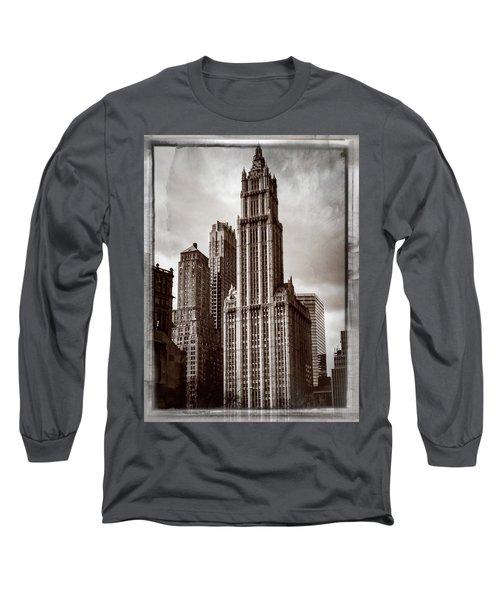 Woolworh Building 2008. Long Sleeve T-Shirt