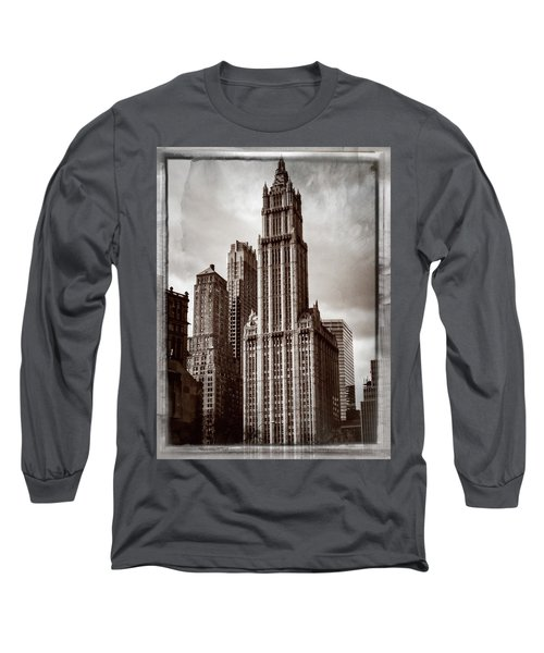 Woolworh Building 2008. Long Sleeve T-Shirt