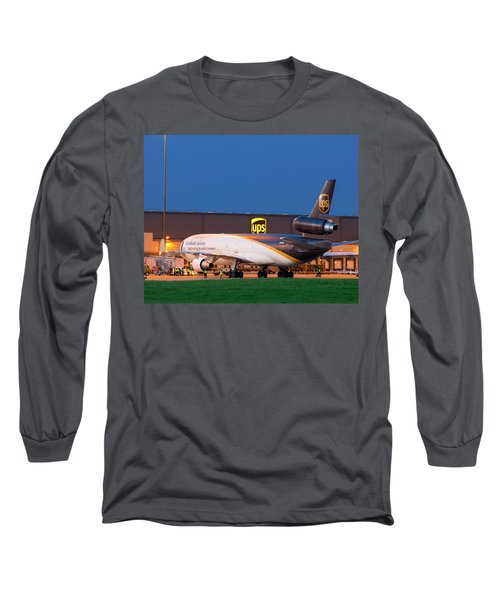 Working The Night Shift Long Sleeve T-Shirt