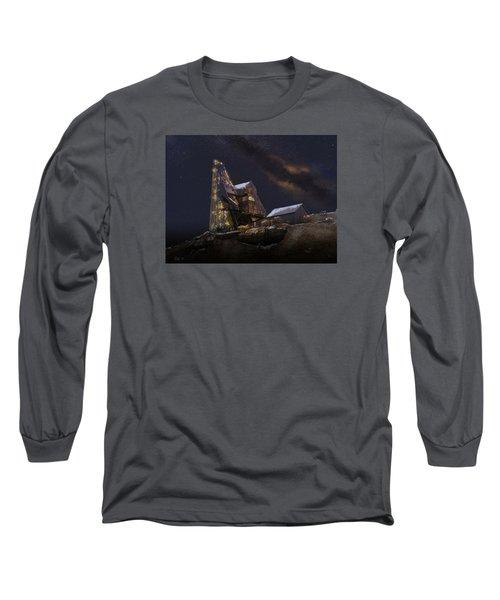 Working Through The Night Long Sleeve T-Shirt