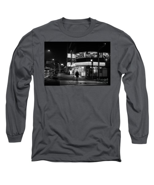 Workout The Night, Tokyo Japan Long Sleeve T-Shirt
