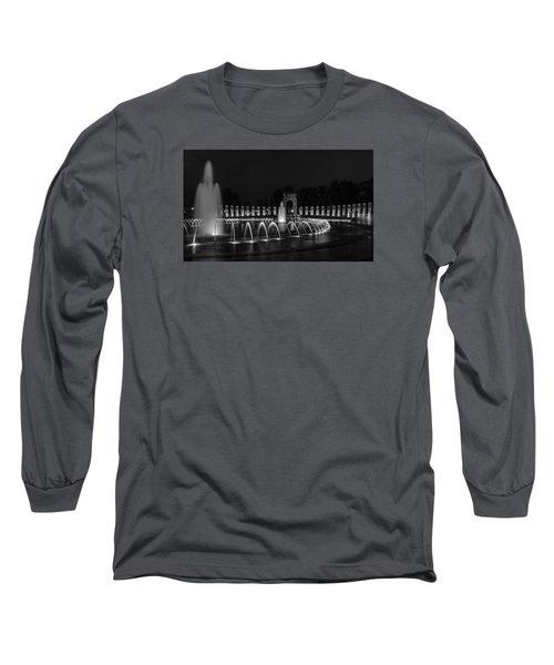 World War II Memorial Long Sleeve T-Shirt by Ed Clark