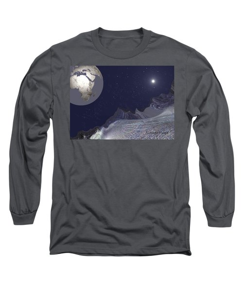 1657 - Worlds - 2017 Long Sleeve T-Shirt by Irmgard Schoendorf Welch