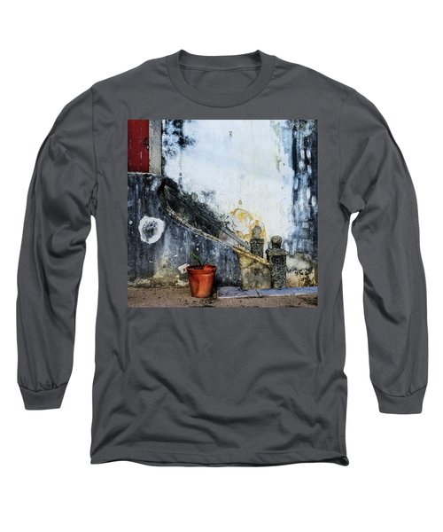 Long Sleeve T-Shirt featuring the photograph Worn Palace Stairs by Marion McCristall