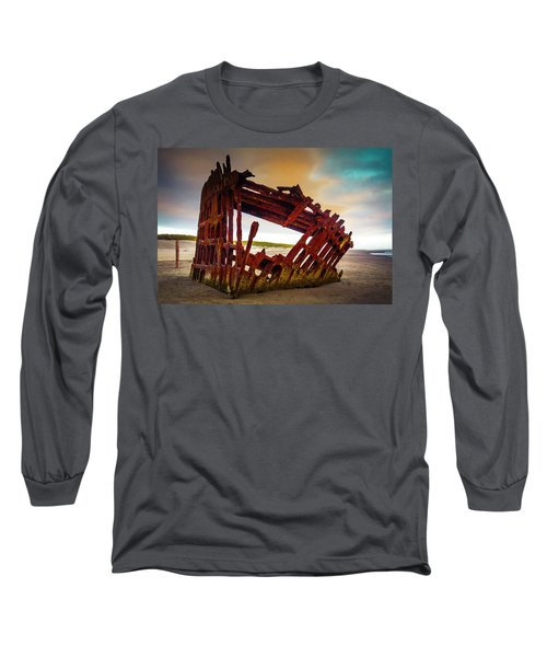 Worn Rusting Shipwreck Long Sleeve T-Shirt