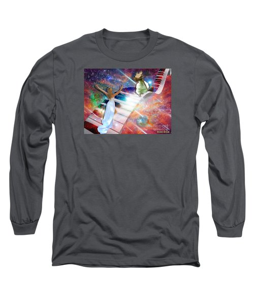Worship In Spirit And In Truth Long Sleeve T-Shirt by Dolores Develde