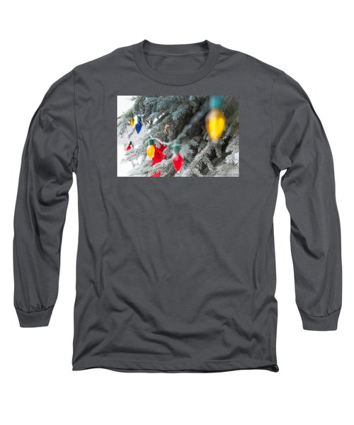 Long Sleeve T-Shirt featuring the photograph Wrap A Tree In Color by Lora Lee Chapman