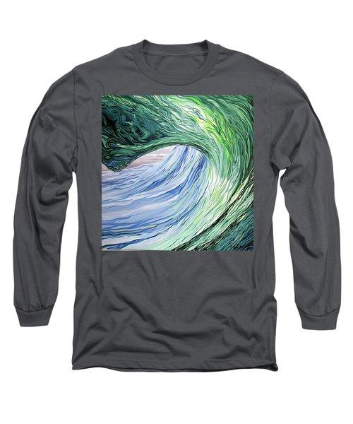 Wrap Around Long Sleeve T-Shirt