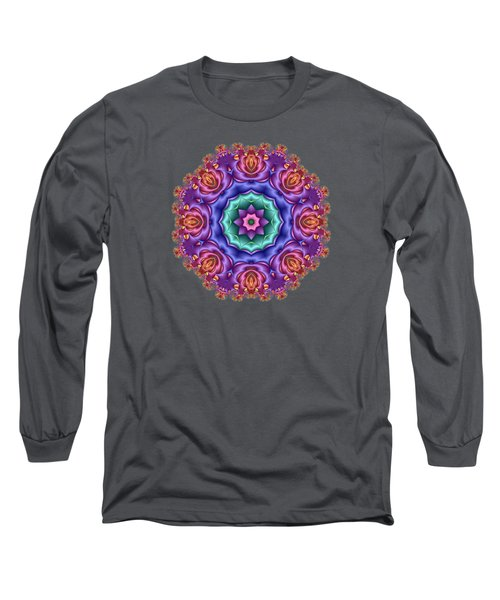 Wreath Of Satin Roses Long Sleeve T-Shirt