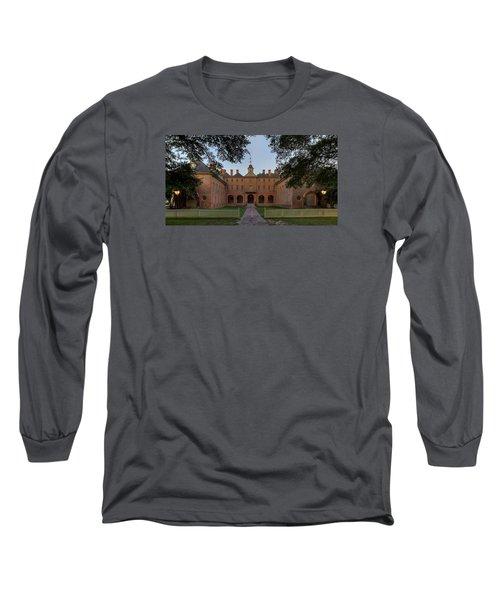 Wren Building At Dusk Long Sleeve T-Shirt
