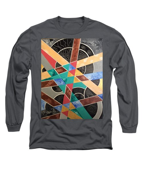 Long Sleeve T-Shirt featuring the painting Wrong And Sad by Hang Ho