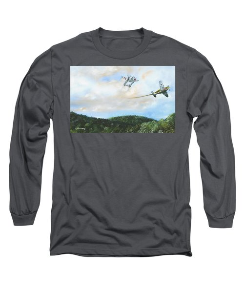 Wwii Dogfight Long Sleeve T-Shirt