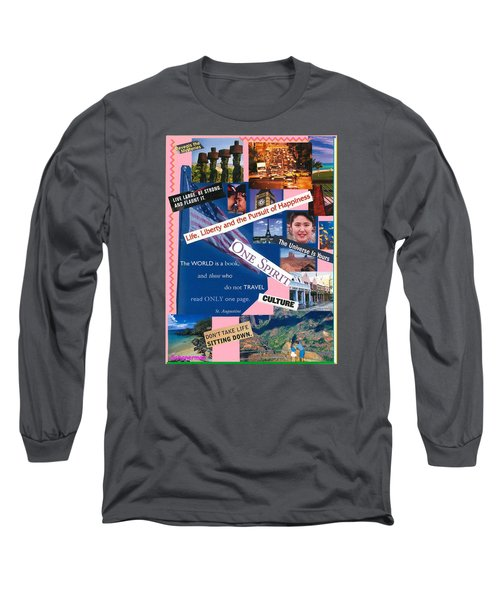 What A Wonderful World Long Sleeve T-Shirt