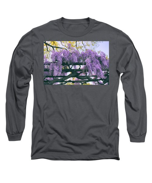 Winsome Wisteria Long Sleeve T-Shirt
