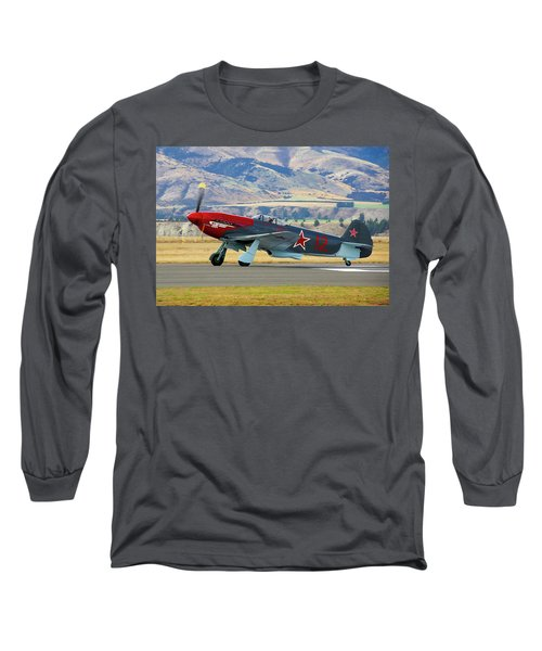 Yakovlev Yak 3-m Long Sleeve T-Shirt by Bernard Spragg
