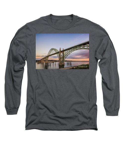 Yaquina Bay Bridge Long Sleeve T-Shirt