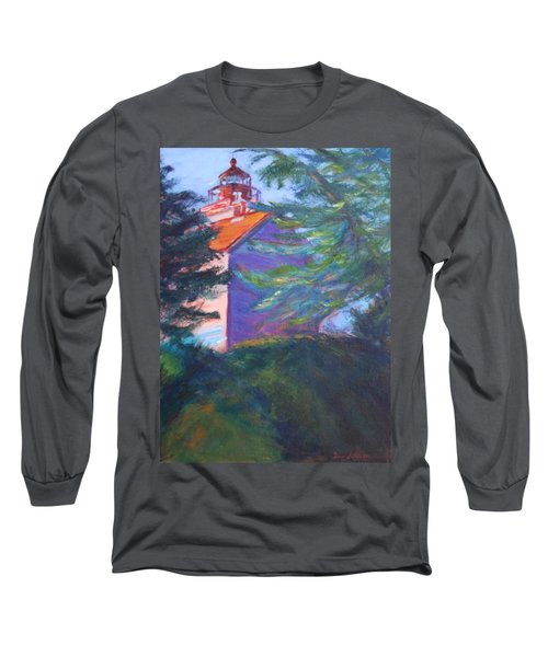 Yaquina Bay Lighthouse  Long Sleeve T-Shirt
