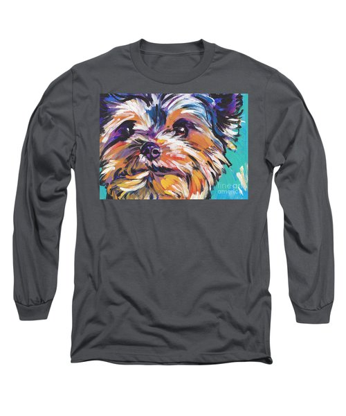 Yay Yorkie  Long Sleeve T-Shirt