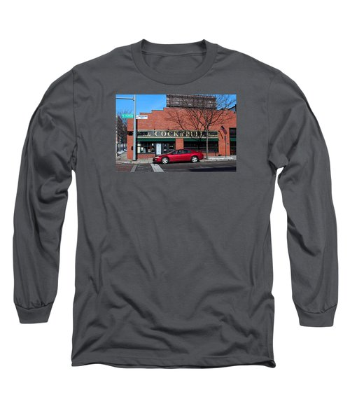 Long Sleeve T-Shirt featuring the photograph Ye Olde Cock N Bull by Michiale Schneider