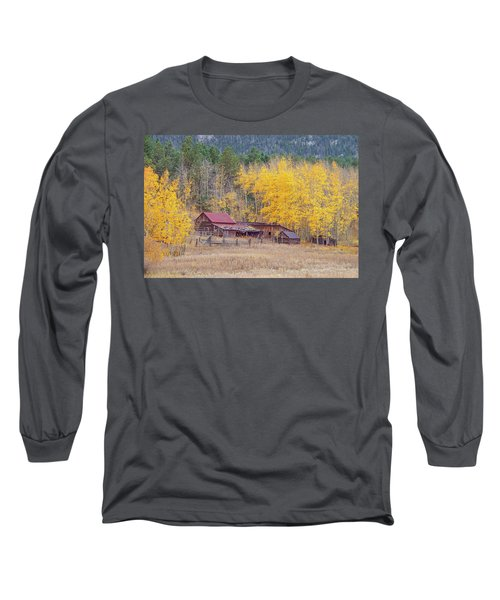 Yearning For The Tranquility Of A Rustic Milieu  Long Sleeve T-Shirt