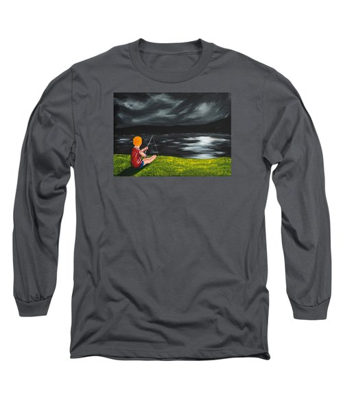 Yel No Catch A Kelpie Wi That Long Sleeve T-Shirt