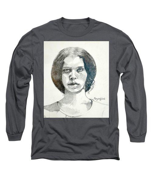Yelena Long Sleeve T-Shirt by Ray Agius