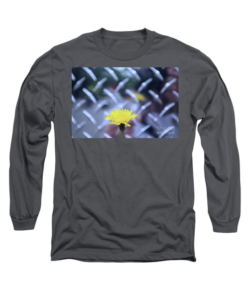 Yellow And Silver Long Sleeve T-Shirt