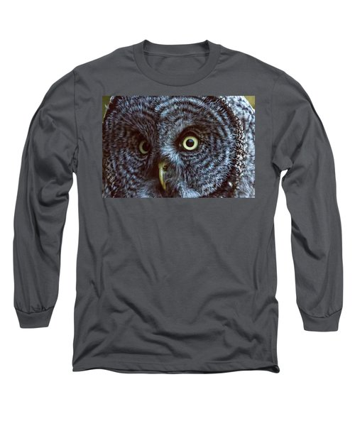 Yellow Eyes Long Sleeve T-Shirt