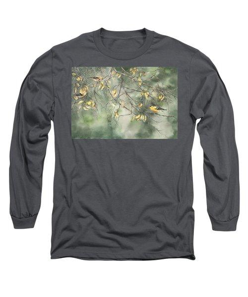 Yellow Finch Long Sleeve T-Shirt