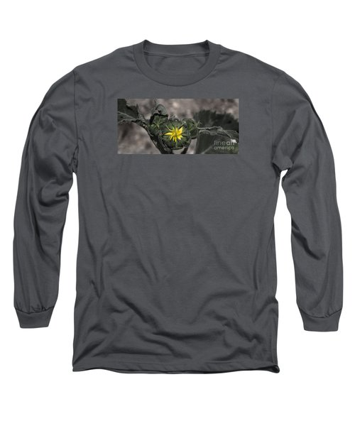 Yellow Flower 3 Long Sleeve T-Shirt