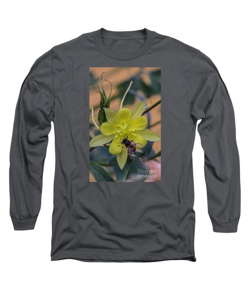 Yellow Flower 5 Long Sleeve T-Shirt