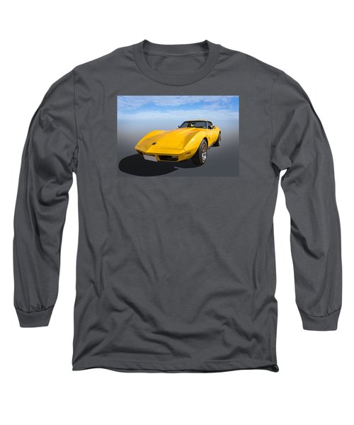 Long Sleeve T-Shirt featuring the photograph Yellow by Keith Hawley