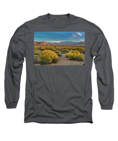 Long Sleeve T-Shirt featuring the photograph Yellow Sunrise by Peter Tellone