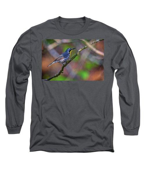 Yellow-throated Warbler Long Sleeve T-Shirt