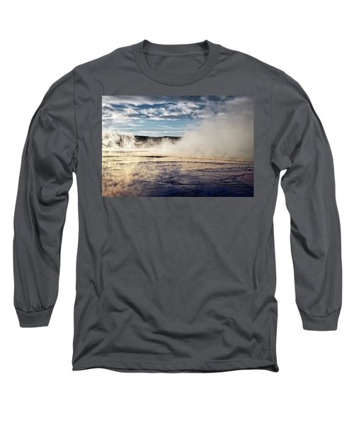Long Sleeve T-Shirt featuring the photograph Yellowstone Colors #10 by Scott Read